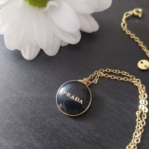 Reworked Prada Necklace